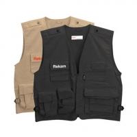 Rekam Vest 10 XXL фотожилет светло-коричневый