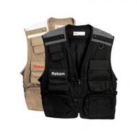 Rekam Vest 13 XL фотожилет светло-коричневый
