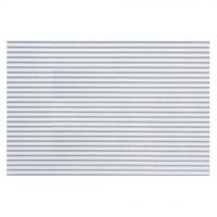 Ella Bella COROBUFF WHITE (11011) фон бумажный гофрированный белый 120x750 см