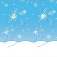 Ella Bella FADELESS WINTER TIME (56385) фон бумажный зима 120х1500 см