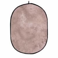 Fotokvant (1205-15051) фон тканевый 1,5х2 м складной светло-коричневый с разводами