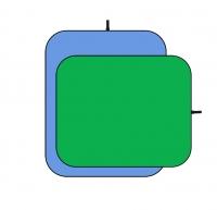 Fujimi FJ 706GB-150/200 складной фон 150х200 см хромакей синий/зелёный