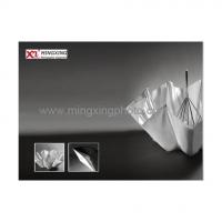 MINGXING 2-folded Black / White Umbrella 45