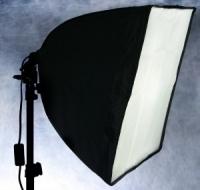 Fotokvant KF-401 софтбокс 40х40 см со штативной головой Е27
