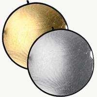 Raylab RRF-80-GRIP silver/gold светоотражатель золотой/серебряный с ручкой 80 см
