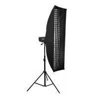 Mingxing Grid Softbox Without Mask стрипбокс жаропрочный с сотами 25x150 см