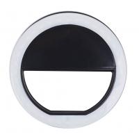Fotokvant NVF-6855 кольцевой осветитель для смартфона черный
