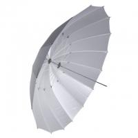 Fotokvant NVF-6883 зонт серебряный на отражение с белой внешней поверхностью 91 см