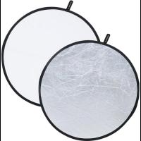 Fotokvant R2-80SW светоотражатель 2 в 1 белый-серебро диаметром 80 см