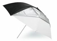 Grifon TSB-84 зонт комбинированный на просвет/отражение белого цвета 84 см