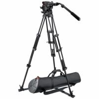 Manfrotto 545GBK штатив с видеоголовкой 526 для видеокамеры