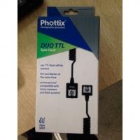 Phottix (38315) DUO TTL кабель для управления двумя TTL вспышками 4 м