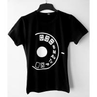 Fotokvant NVF-9334 Колесико футболка для фотографа размер 52