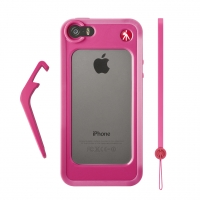 Manfrotto MCKLYP5S-P бампер для  iPhone SE 5/5S розовый