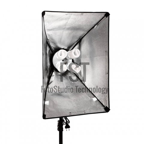 FST KF-104II 4x45W флуоресцентный осветительный прибор с софтбоксом 40x60 см