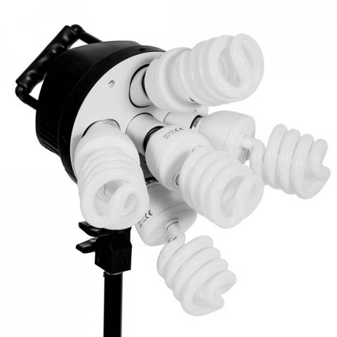 FST KF-130II 5x45W флуоресцентный осветительный прибор с софтбоксом 50x70 см