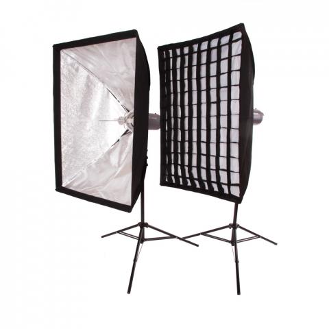 FST PRO-600 Softbox Kit комплект импульсного света
