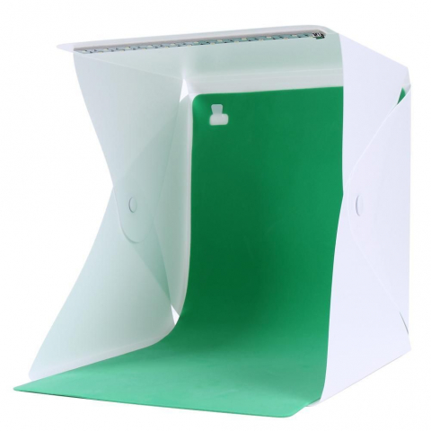 Fotokvant BP-0204 GREEN фон для фотобокса BOX-22/23 LED зеленый хромакей