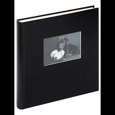 Walther FA-502-B Сharm фотоальбом 50 белых страниц 30x30 с окошком черный