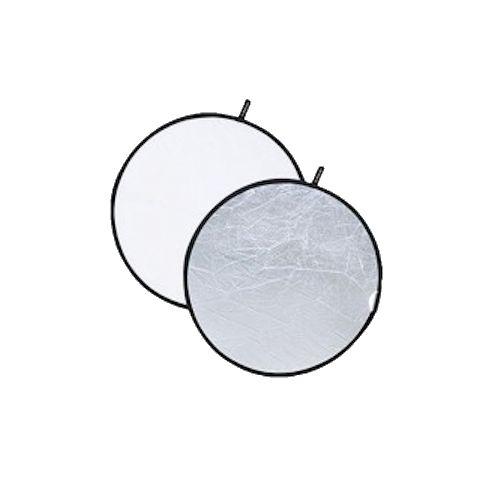 Fotokvant R2-60SW светоотражатель 2 в 1 белый-серебро диаметром 60 см