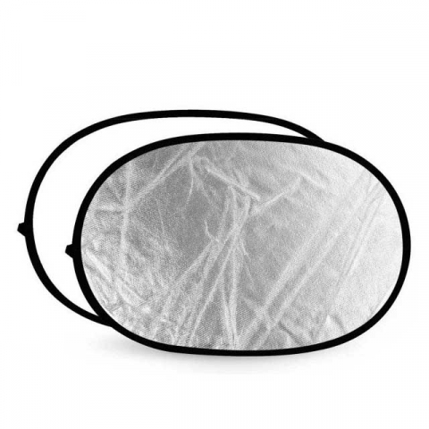 Fotokvant R2-90120SW светоотражатель серебро-белый размером 91х122 см