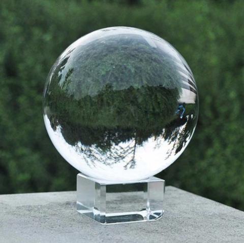 Fotokvant PRS-001 сфера хрустальная 80 мм с подставкой для спецэффектов
