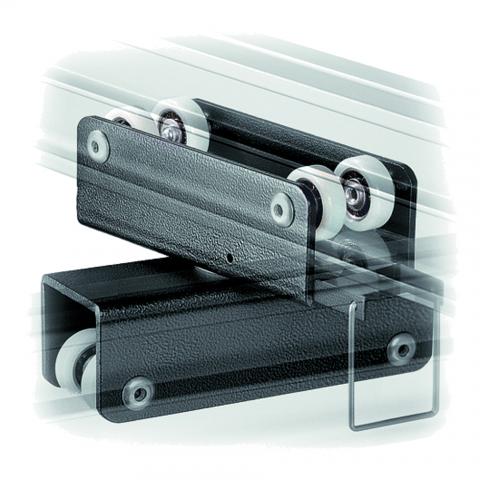 Manfrotto FF3236 каретка для рельсовой системы двойная с одним тормозом