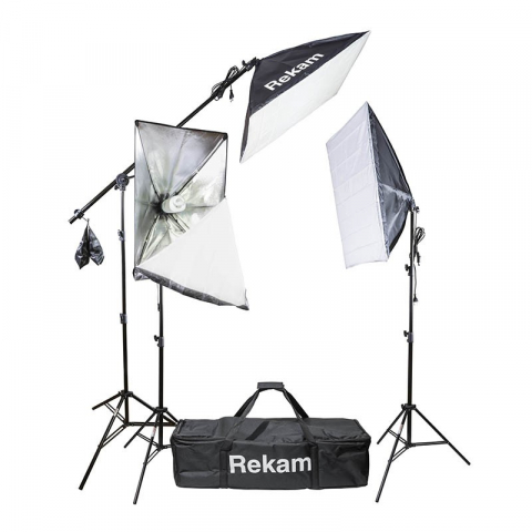 Rekam CL-435-FL3-SB Boom kit комплект флуоресцентных осветителей с софтбоксами