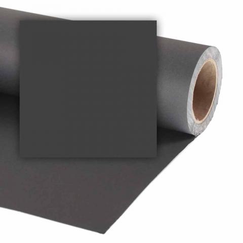 Colorama CO968 Black бумажный фон 2.18x11 м цвет черный
