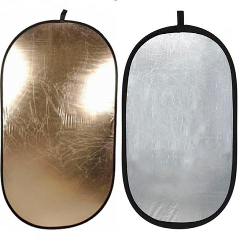 Falcon Eyes RFR-3648GS двухсторонний прямоугольный отражатель золото/серебро