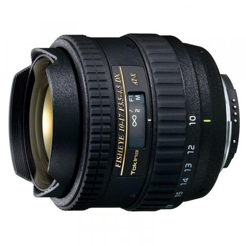 Tokina AT-X 107 F3.5-4.5 DX Fisheye C/AF (10-17mm) для Canon