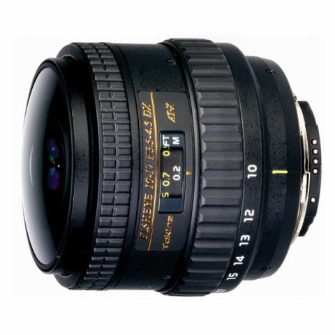 Tokina AT-X 107 F3.5-4.5 DX Fisheye NON HOOD C/AF (10-17mm) для Canon