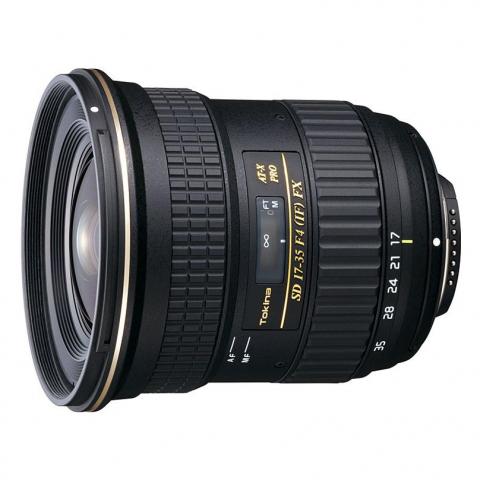 Tokina AT-X 17-35 PRO FX  F4.0 C/AF для Canon