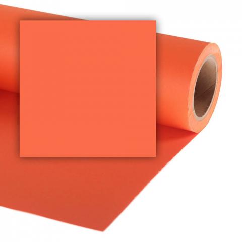 Colorama CO147 Pumpkin фон бумажный 2,72х11 м цвет тыквы