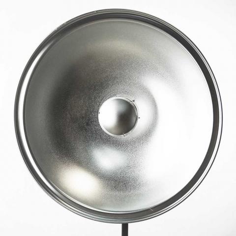 Fotokvant SR-700S-BR софтрефлектор универсальный серебряный 70 см c адаптером Broncolor