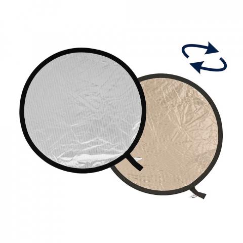 Lastolite LR4828 отражатель складной 120 см цвет золотистый/мягкое серебро