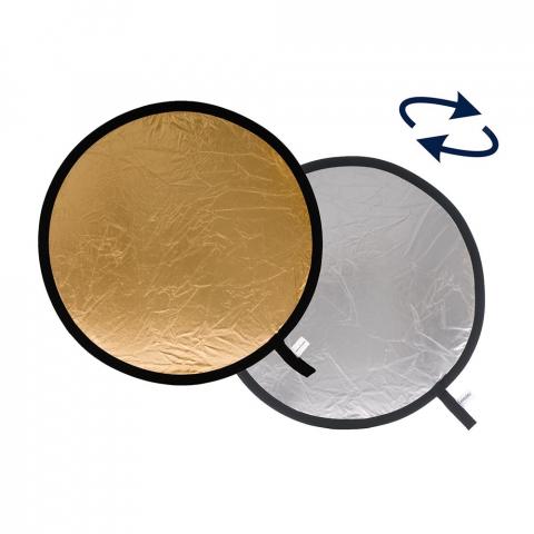 Lastolite LR4834 отражатель складной 120 см цвет серебряный/золотой