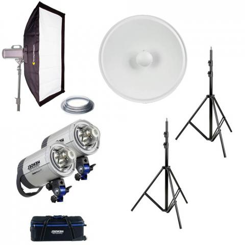 Fotokvant iconic basic kit Hensel Integra 500 Plus комплект импульсного освещения
