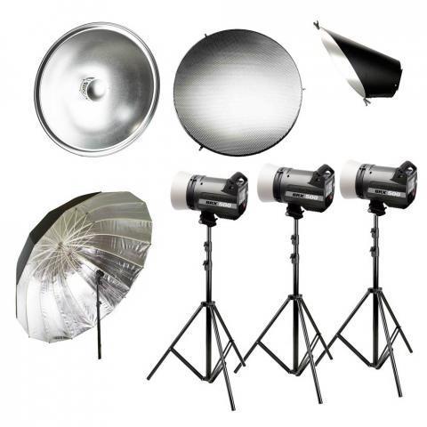 Fotokvant iconic kit Elinchrom BRX 500 комплект импульсного освещения