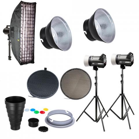 Fotokvant table kit Elinchrom BRX 250 комплект импульсного освещения