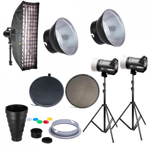 Fotokvant table kit Elinchrom BRX 500 комплект импульсного освещения