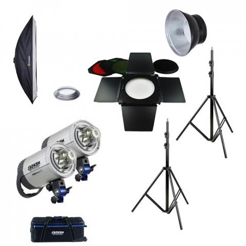 Fotokvant table kit Hensel Integra 500 Plus комплект импульсного освещения