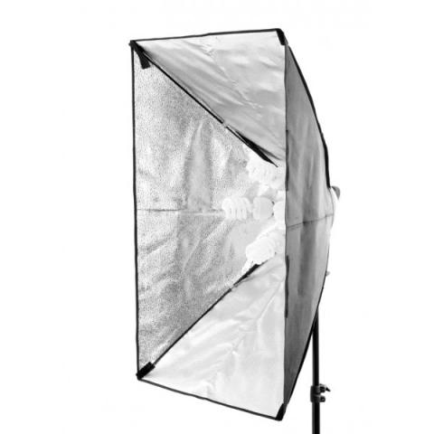 FST KF-104 4x26W люминесцентный источник освещения с софтбоксом 60x80
