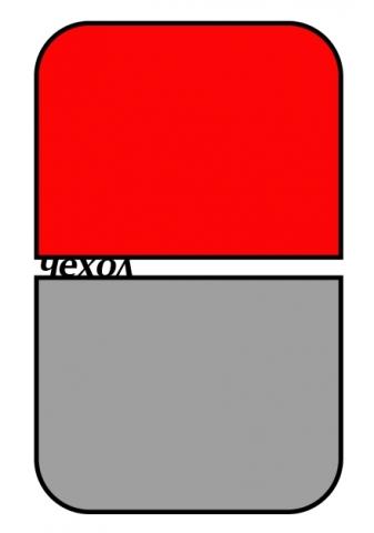 Grifon 2B1530-03/15 дополнительный чехол к тканевому фону на каркасе