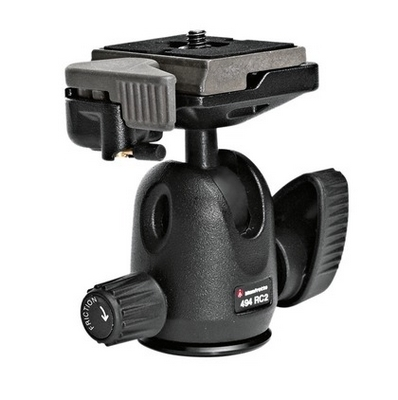 Manfrotto 494RC2 Mini Ball Head W/RC2 шаровая штативная голова