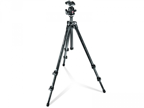 Manfrotto MK294C3-A0RC2 294 Kit CF 3S Tripod Ball Head штатив для фото- или видеокамеры