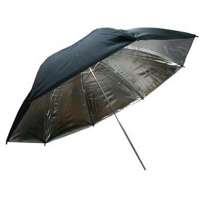 Phottix (85400) двухслойный зонт-отражатель серебристо-черный 101 см