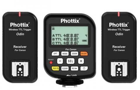 Phottix Odin (89062) комплект радиосинхронизаторов TTL для Canon v 1,5
