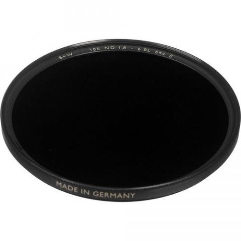 B+W F-Pro 106 ND E нейтрально-серый фильтр плотности 1.8 для объектива 82 мм