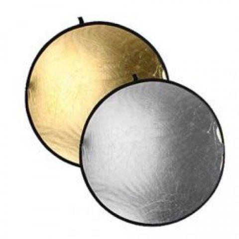 FST RD-021GS отражатель 2 в 1 золото/серебро 80 см
